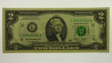 USA 2009 $2.00 San Francisco Federal Reserve Banknote
