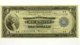 1918 Federal Reserve Bank of Richmond Battleship Banknote