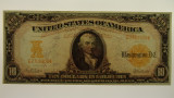 USA 1907 Ten Dollars Gold Certificate Banknote