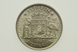 1943 Florin George VI in Almost Uncirculated Condition