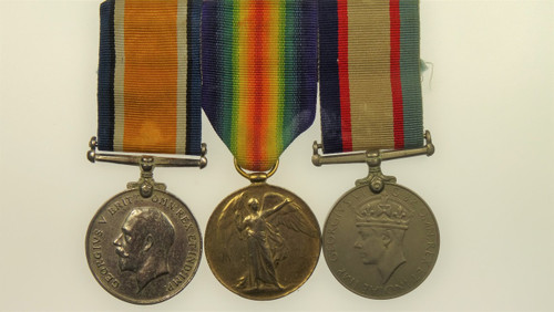 Replica War Medal 1914-18, Victory Medal 1914-19 Australia Service Medal