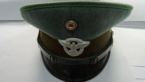 World War II 1938 German National Protection Police Visor Cap