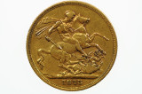 1873 Sydney Mint Gold Full Sovereign in Fine Condition