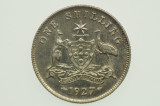 1927 Shilling George V in Extremely Fine Condition