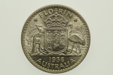 1956 Florin Elizabeth II in Almost Uncirculated Condition