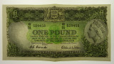 1953 One Pound Coombs / Wilson Banknote in Extremely Fine Condition