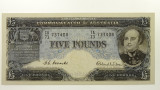 1954 Five Pounds Coombs / Wilson Banknote in Extremely Fine Condition