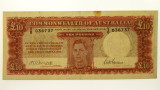 1943 Ten Pounds Armitage / McFarlane Banknote in Fine Condition