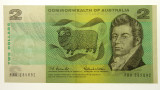 1966 Two Dollars Coombs / Wilson Banknote in aUnc Condition