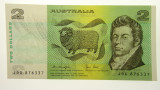 1979 Two Dollars Knight / Stone First Prefix JDX Banknote in Unc Cond