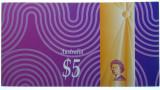 1997 Five Dollars Macfarlane / Evans Banknote Hong Kong Handover Folder