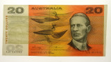 1974 Twenty Dollars Phillips / Wheeler Error Guillotined off-centre Banknote
