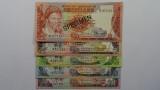 Swaziland 1974 1 - 20 Emalangeni Matching Serial SPECIMEN Banknote Set
