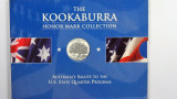 1999 The 1oz 999 Silver Kookaburra Honor Mark Collection Connecticut