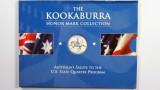 1999 The 1oz 999 Silver Kookaburra Honor Mark Collection Delaware