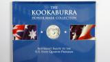1999 The 1oz 999 Silver Kookaburra Honor Mark Collection Georgia