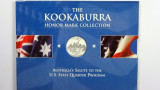 1999 The 1oz 999 Silver Kookaburra Honor Mark Collection New Jersey