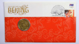2008 One Dollar Beijing Olympic Games Philatelic Numismatic Cover
