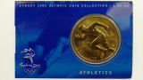 Sydney 2000 Olympic Games Athletics Five Dollars Uncirculated Coin