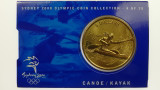 Sydney 2000 Olympic Games Canoe/Kayak Five Dollars Uncirculated Coin