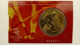 Sydney 2000 Olympic Games Hockey Five Dollars Uncirculated Coin