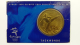 Sydney 2000 Olympic Games Taekwondo Five Dollars Uncirculated Coin