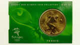 Sydney 2000 Olympic Games Tennis Five Dollars Uncirculated Coin