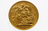 1905 Melbourne Mint Gold Full Sovereign in Extremely Fine Condition