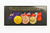 2008 Icons of The Commonwealth Three Gold Coin Set