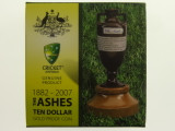 1882 - 2007 The Ashes 1/10oz 9999 Gold Proof Ten Dollars Coin