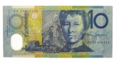 1993 Ten Dollar Fraser / Evans Banknote AP93 Low Mint in Unc Condition