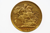 1895 Melbourne Mint Gold Full Sovereign in Very Fine Condition