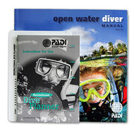 PADI Open Water Diver Manual with Table - Metric - Hebrew