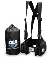 DUI Drysuit Weight and Trim System