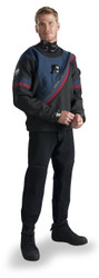 DUI FLX50/50 Drysuit - Shown in Navy