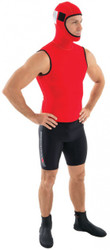Henderson Hyper Orange Water Rescue Swimmer Hooded Vest