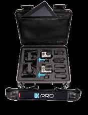 UK Pro POV40 GoPro Multi-Camera Hard Case - White w/Handle