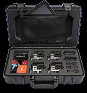 UK Pro POV60 GoPro Multi-Camera Hard Case - Black