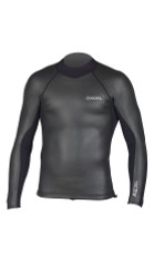 Xcel Axis SmoothSkin Back Zip L/S 2/1mm - Mens