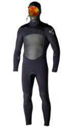 Xcel Surf Drylock Hooded 4/3mm Fullsuit - Mens