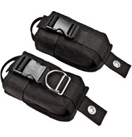 xDeep Large weight pockets with plastic buckles and bolts (up to 15 lbs in pocket)