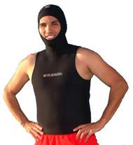 XS Scuba 4mm Hooded Vest with Side Zipper