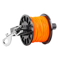 Dive Rite Reel w/Slide Lock - 400' Orange Line