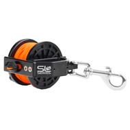 Dive Rite Reel w/Slide Lock - 140' Orange Line