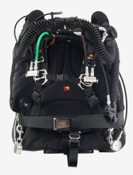 Dive Rite O2ptima Back Mount Closed Circuit Rebreather