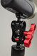 You will need an additional ball mount that supports your choice of light to attach the clamp