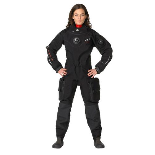 Waterproof D1 Hybrid Drysuit with Free PADI Drysuit Certification - Womens