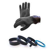 Waterproof Latex Dry Glove w/Liner for ISS Suits and Atares Kit