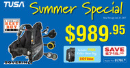 TUSA Gear Essentials Summer Special Package
