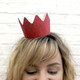 Glitter party crowns for childrens birthday parties